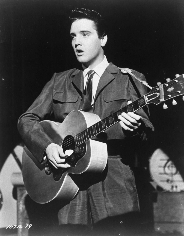 1956: Elvis Presley
