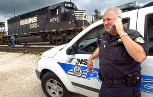 Class shows danger of rail crossings