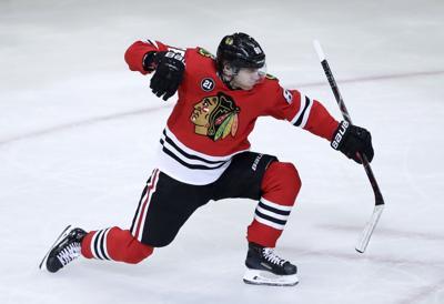 Red Wings Blackhawks Hockey