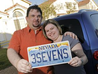 Couples look to get lucky in love with string of 7s
