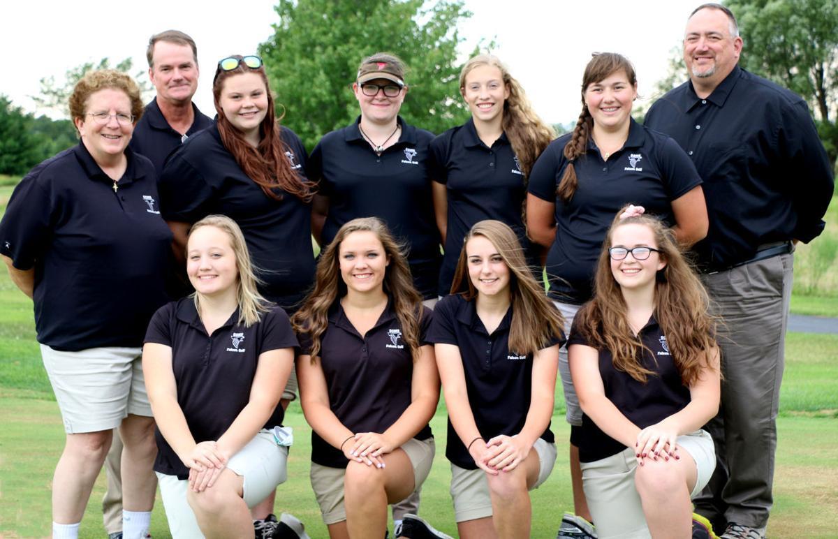 Varsity girls golf team