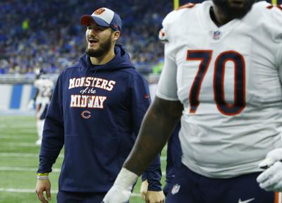new arrival e65f7 affca Trubisky 'bummed' not to play, but Bears still view injury ...