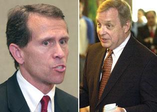 Democrat Durbin endorses Tari Renner for Bloomington mayor