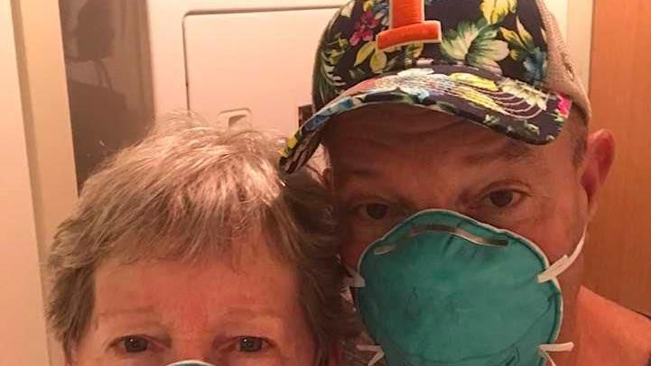 Bloomington couple hopes to return home within a week after virus disrupts cruise
