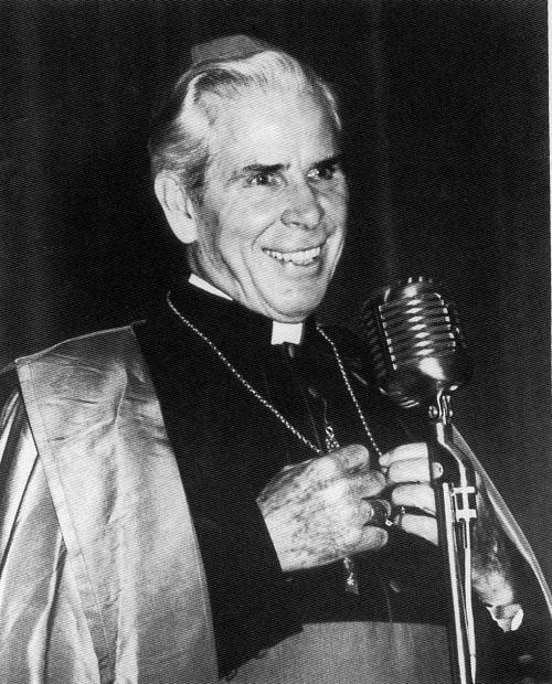 Bishop Fulton J. Sheen mugshot