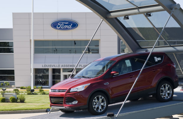 1. Ford Escape: 14,631 registered