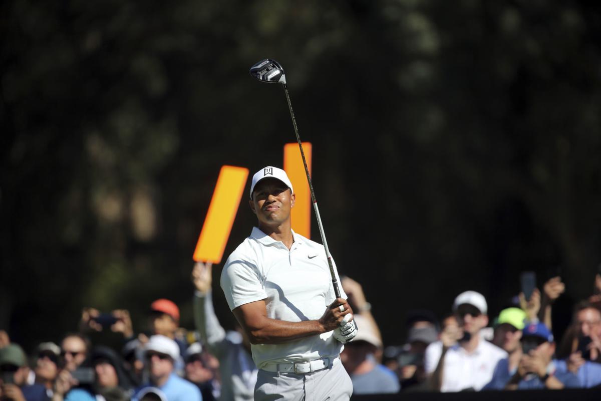 Genesis Open Golf Tiger Woods