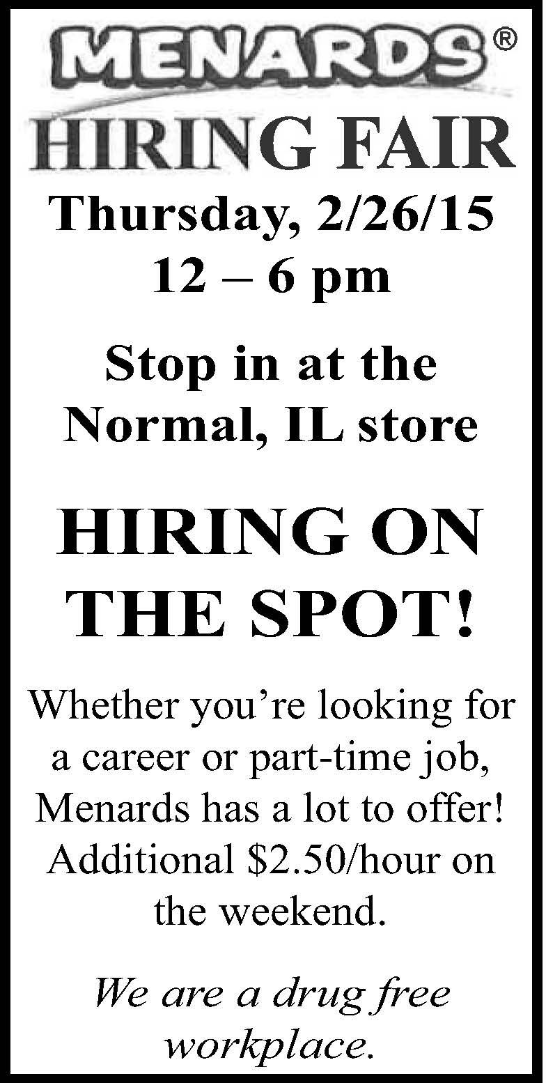 Who's hiring? Open positions in Central Illinois | Jobs