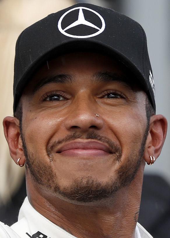 Lewis Hamilton, F1, 2018 hedshot