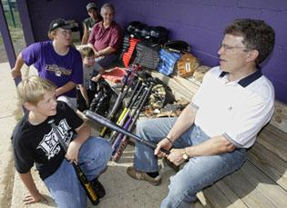 Donations from across U.S. help town save baseball