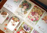 Antique postcards celebrate holiday past