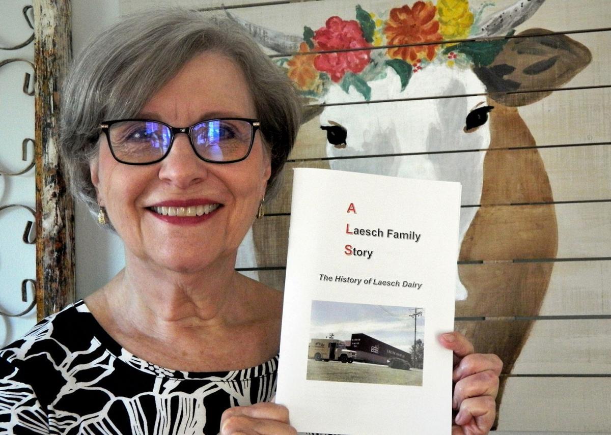080121-blm-loc-flickcolumn-Ellen Laesch Dalrymple and her book.jpg