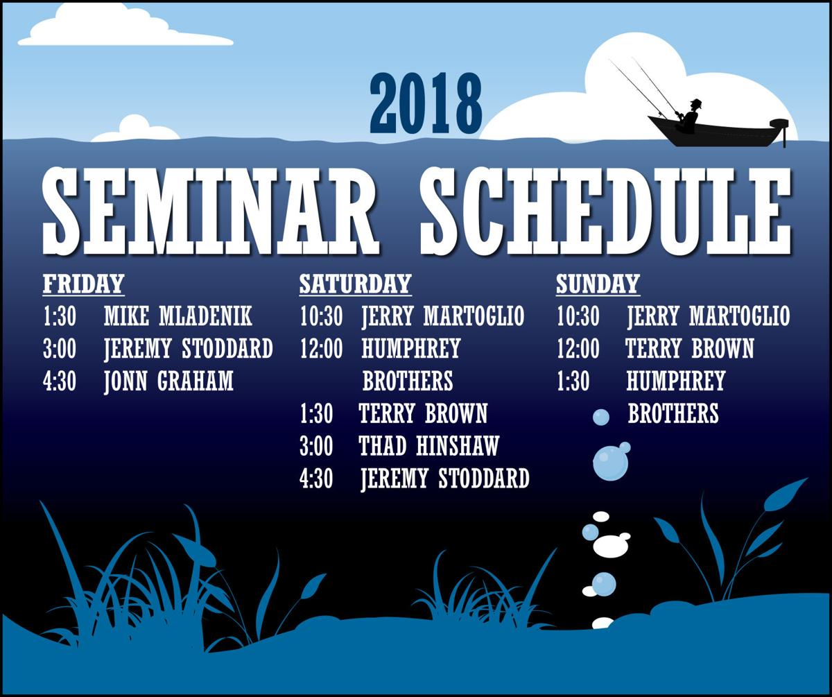 2018 Fish and Feather Seminar Schedule Final Update