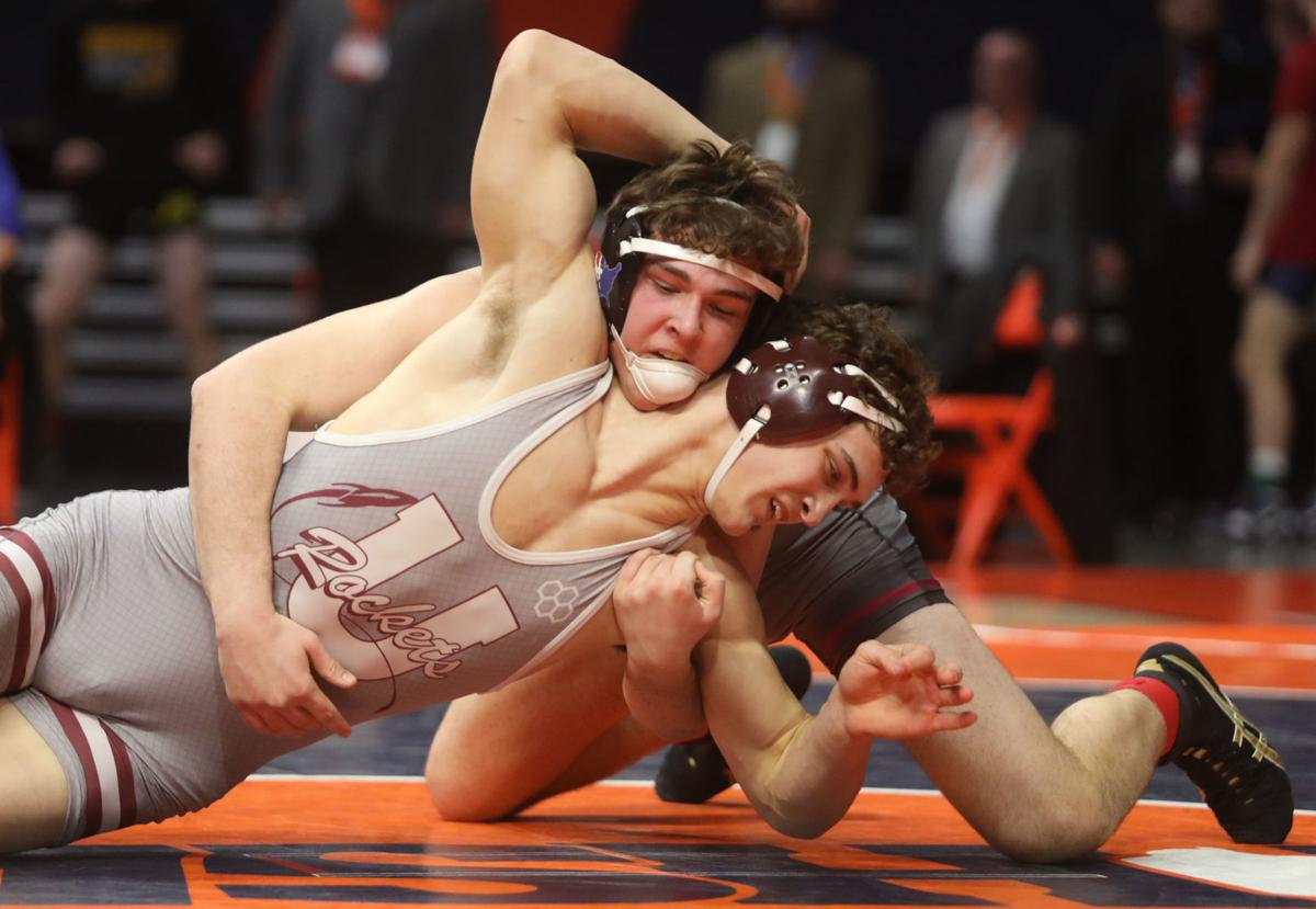 Micah Downs in state title match