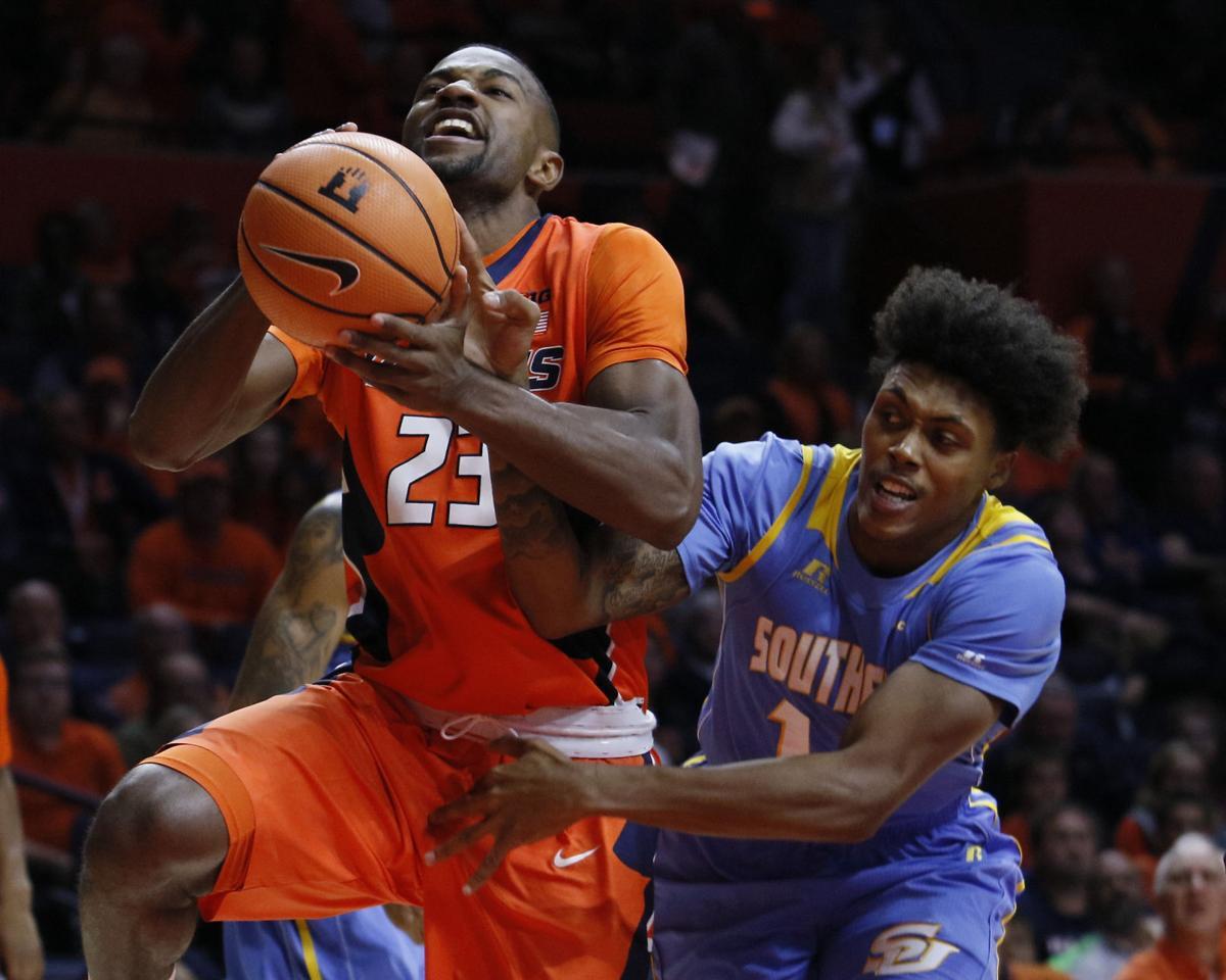 Southern U Illinois Basketball