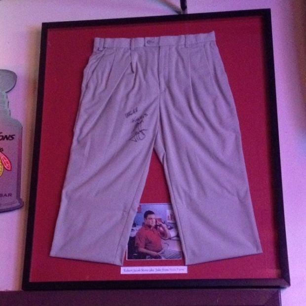 Jake's khakis