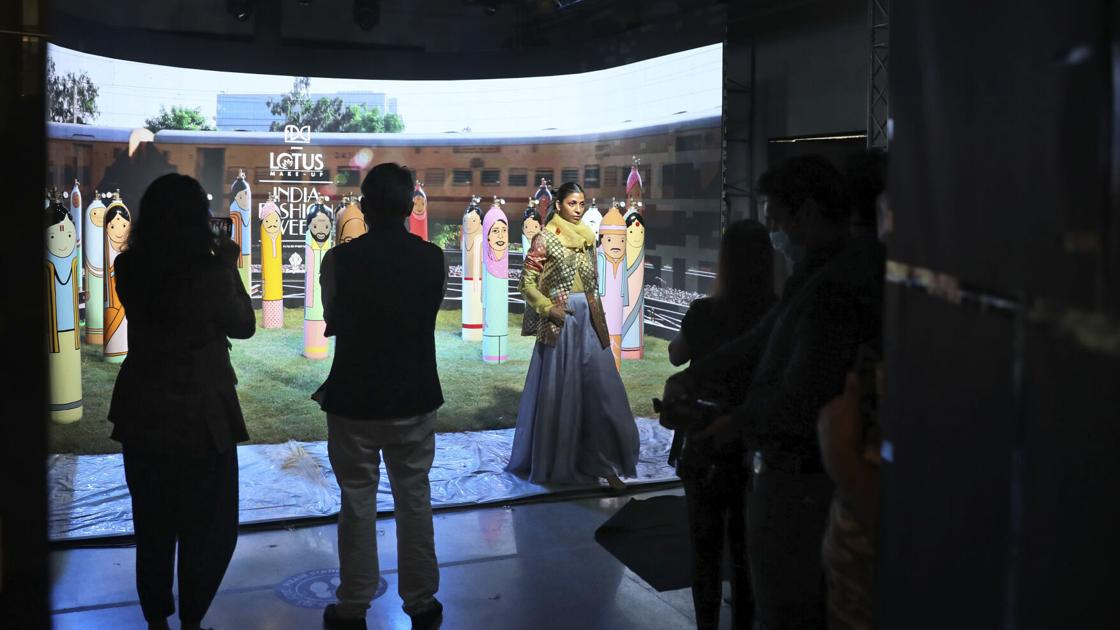 Photos: An inside look at India's digital fashion week amid the pandemic