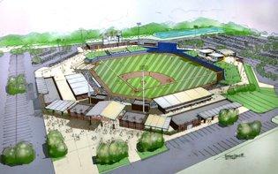 Normal baseball stadium plans revealed