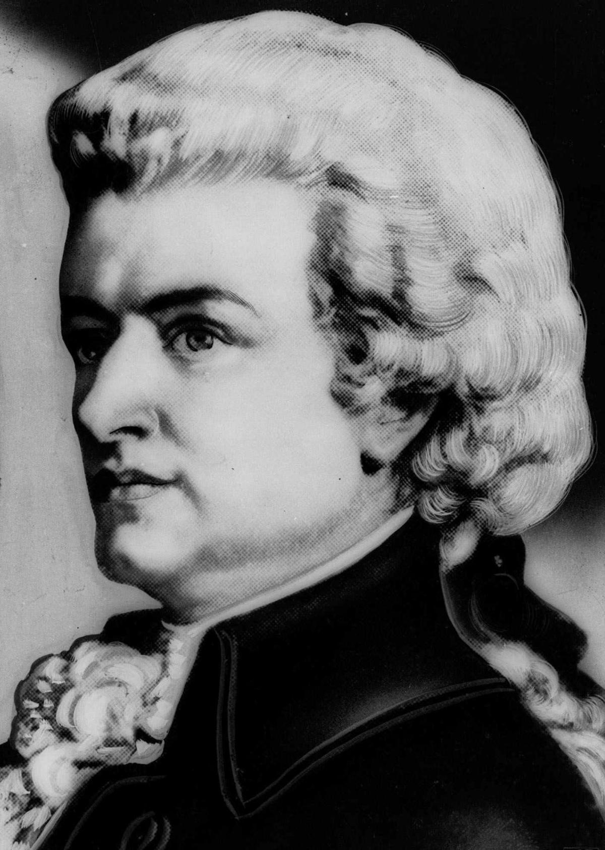 1756: Wolfgang Amadeus Mozart