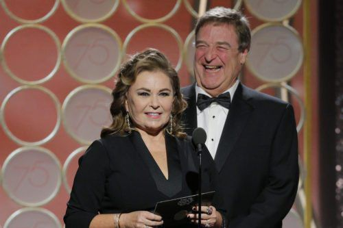 Roseanne Barr, John Goodman Have A 'Roseanne' Reunion And Show They Still Have Chemistry At Golden Globes