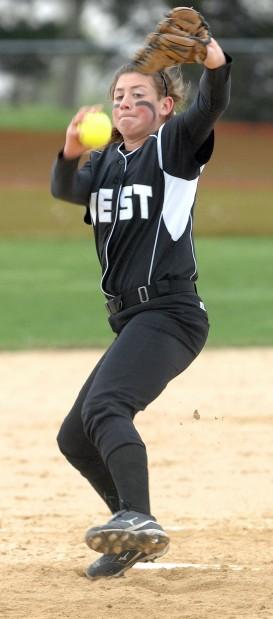 West v NCHS Softball