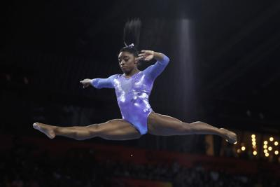 Simone Biles takes 24th medal, becomes most decorated gymnast in history
