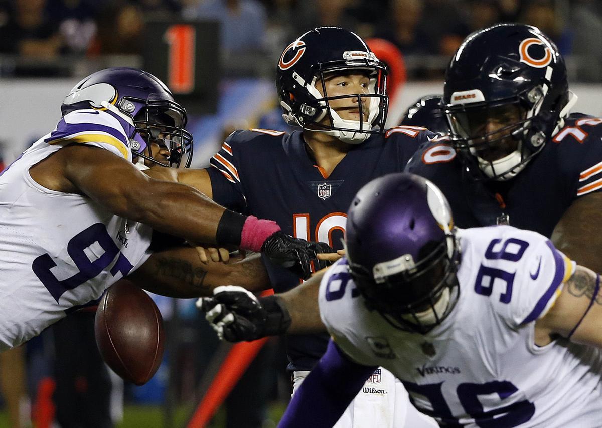 APTOPIX Vikings Bears Football