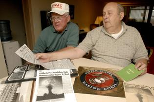 Local vets had front-row seats to July '57 nuclear test