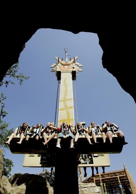Busch Gardens theme park 100709