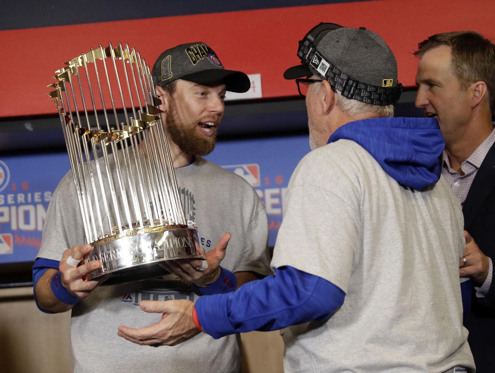 world series great photos from game 7 baseball pantagraph com rh pantagraph com