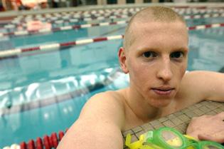 Kindred: Pool helps state qualifier cope with autism, life