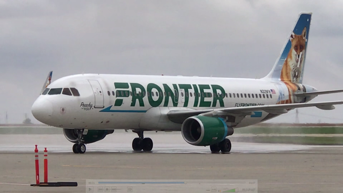 Frontier Airlines to suspend service from Bloomington to Las Vegas