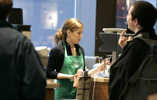 For some, a block walk to Starbucks too far