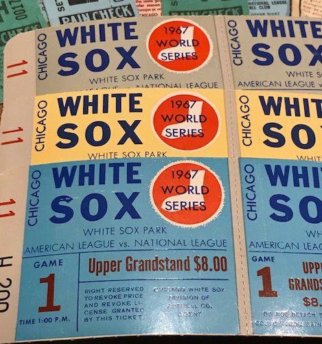 1967 World Series tickets