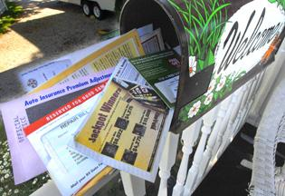 Stop junk mail with a few easy steps