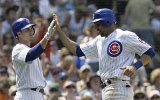 Fontenot, Soriano homers help Lilly, Cubs beat Padres
