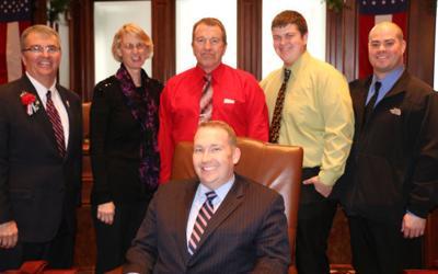 Scott Bennett and family