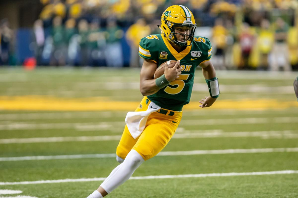 Freshman Lance Steps Right In To Bison Quarterback Job College