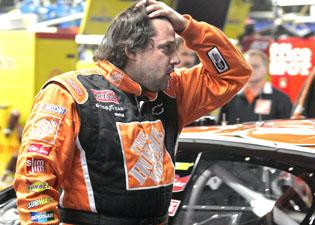 Tony Stewart sliding out of championship contention