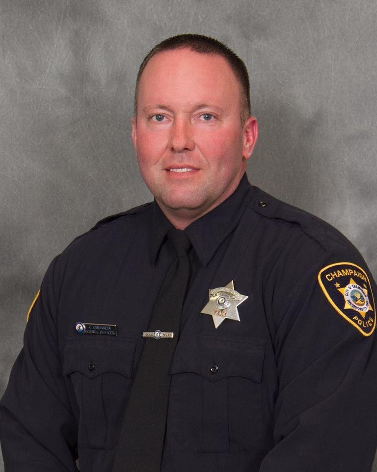 Champaign Police Officer Chris Oberheim