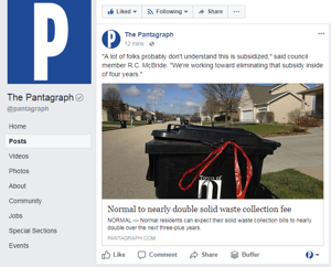 Facebook is changing its news feed. Here's how to keep up with local news