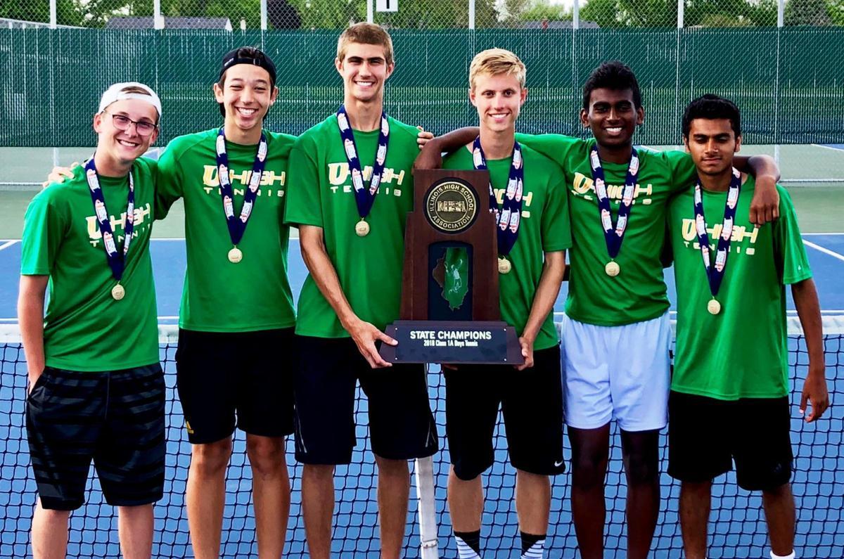 U High tennis team