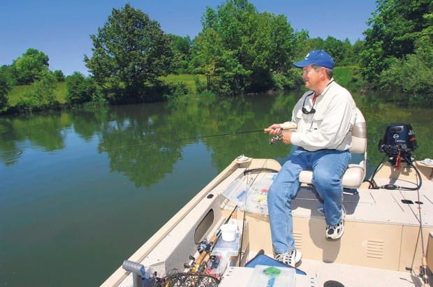 Central illinois has some prime fishing opportunities for Evergreen lake fishing report