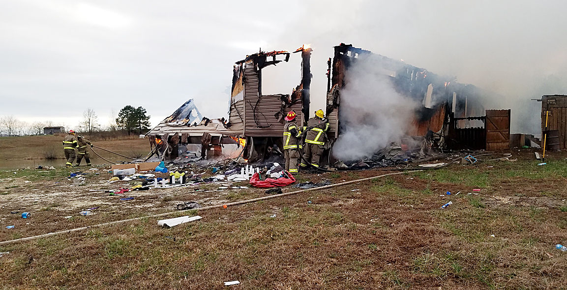 PARIS TN: Man arrested after fire he started destroys home ...