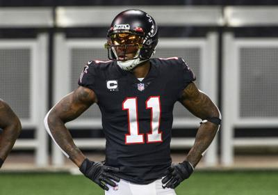 Titans Falcons Jones Trade Football