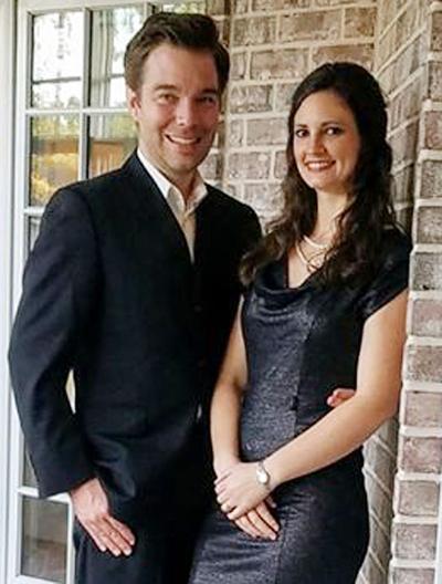 Jeff Fletcher and Katelyn Powell