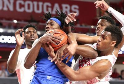 Memphis Houston Basketball