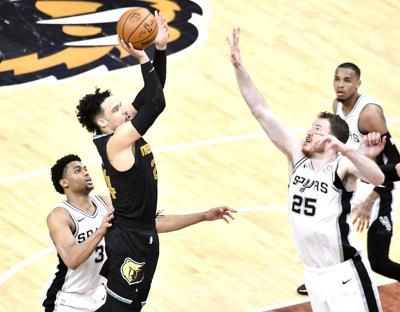 Spurs Grizzlies Basketball
