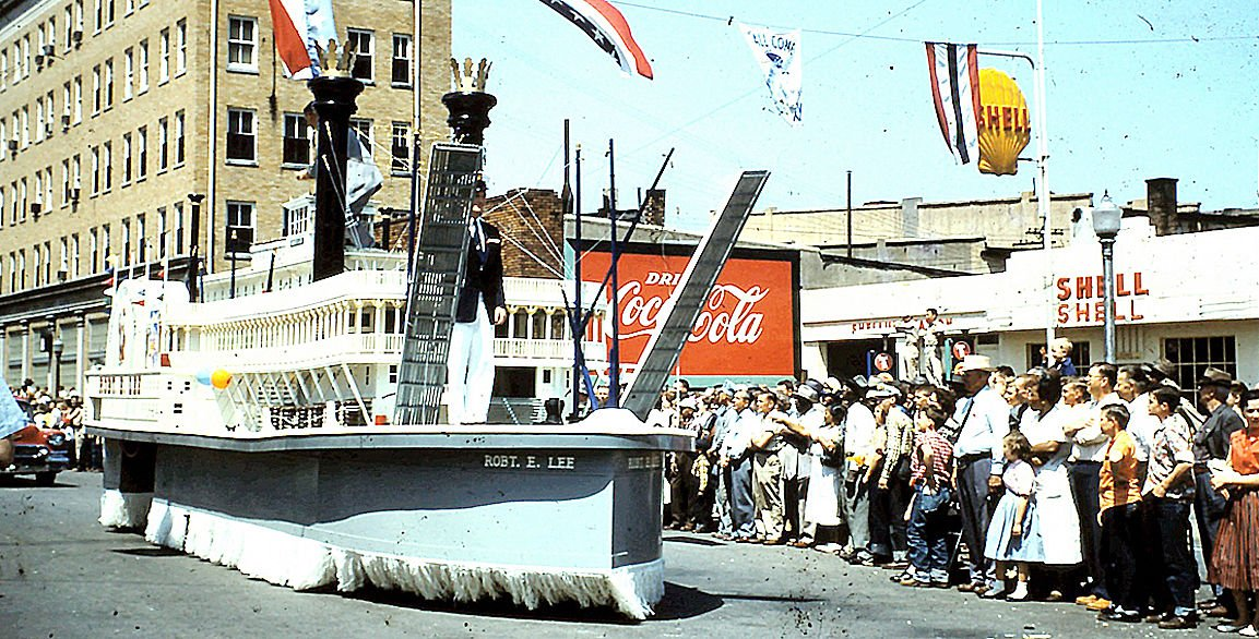 Its almost time for fish fry news parispi 4 5 18 bus fish fry parade river boat 1956 pic 3cg publicscrutiny Choice Image