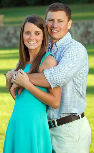 Jessica Stier and her fiance Brandon French